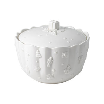 Toy's Delight Royal Classic scatola per pasticcini, bianca, 20 x 15 cm