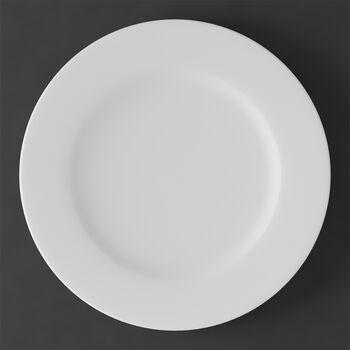 White Pearl piatto gourmet/patto segnaposto