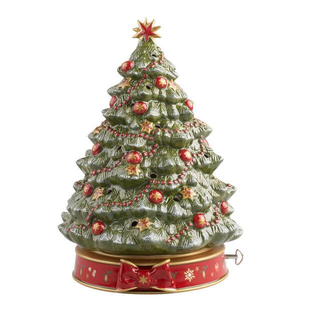Toy's Delight árbol de Navidad con caja de música, , large