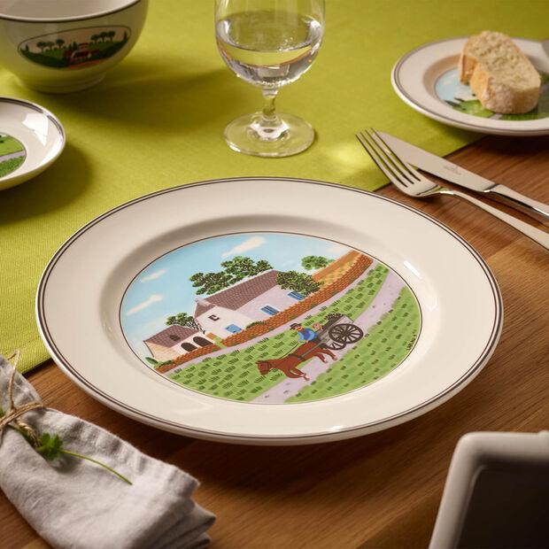 Design Naif piatto piano Contadino, , large