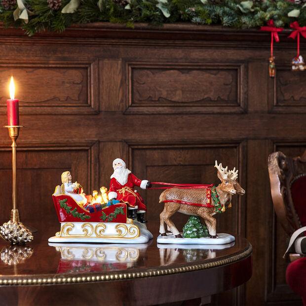 Christmas Toys figura nostálgica de trineo, 36 x 14 x 17 cm, , large