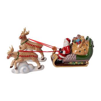 Christmas Toy's figura de trineo North Pole Express, varios colores, 36 x 14 x 17 cm