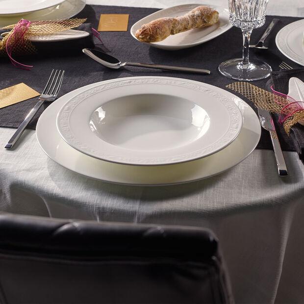 White Pearl piatto fondo, , large