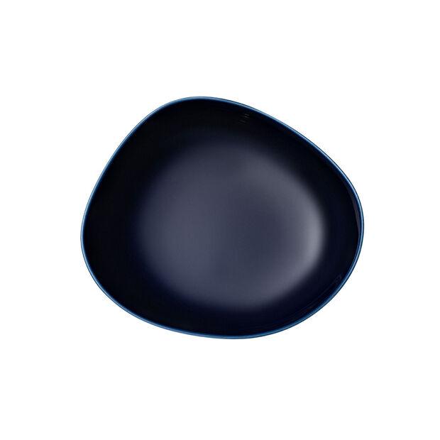 Organic Dark Blue plato llano, azul oscuro, 20 cm, , large