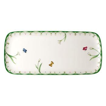 Colourful Spring piatto da torta rettangolare 35x16 cm