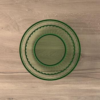 Boston Coloured plato para postre y ensalada, verde, 21 cm