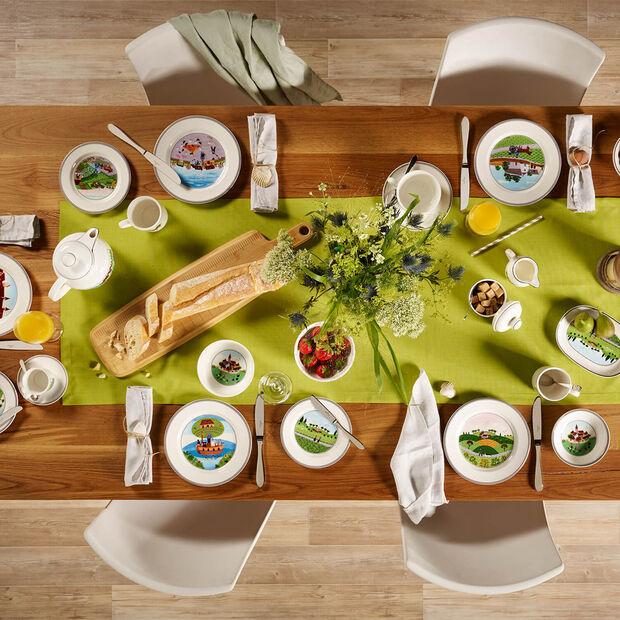 Design Naif piatto da colazione Cacciatore, , large