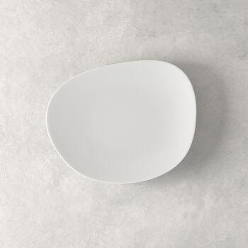 Organic White piatto da colazione, bianco, 21 cm
