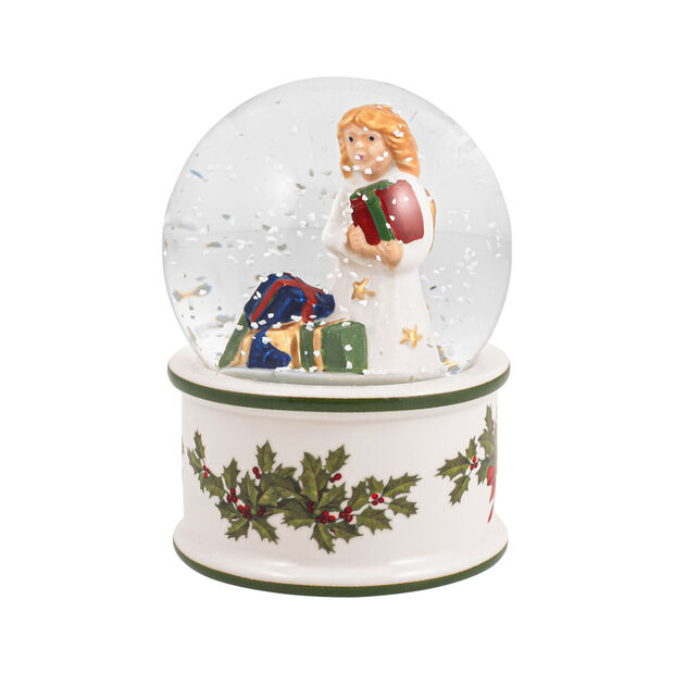 Christmas Toys bola de nieve pequeña con Niño Jesús, 6,5 x 6,5 x 9 cm, , large