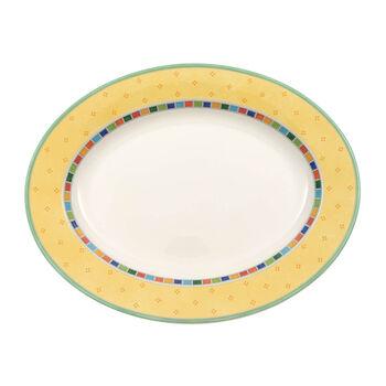 Twist Alea Limone piatto ovale 34 cm