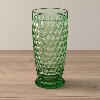 Boston Coloured Vaso largo Green
