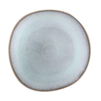 Lave Glacé piatto piano, turchese, 28 x 28 x 2,7 cm