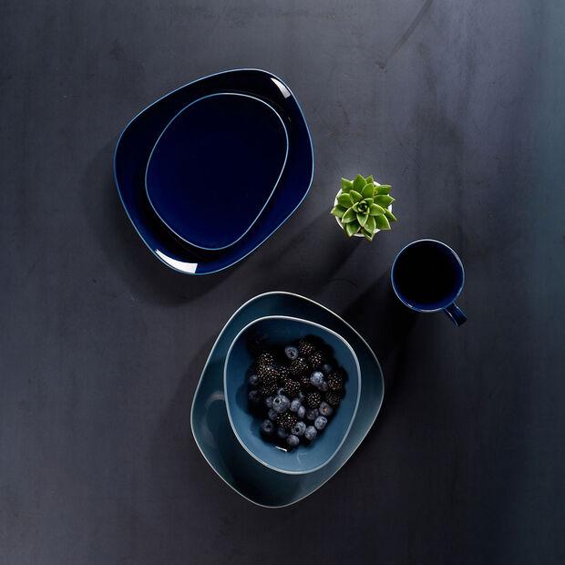 Organic Dark Blue tazza con manico, blu scuro, 350 ml, , large