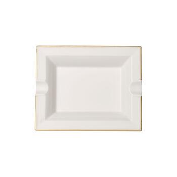 Anmut Gold posacenere, 17 x 21 cm, bianco/oro