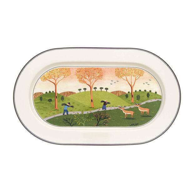 Design Naif fuente ovalada de 34 cm, , large