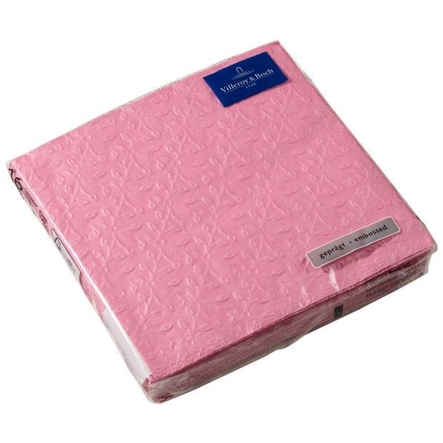 Servilletas de papel Caffe Club Floral Touch of Rose, 20 unidades, 33x33cm, , large
