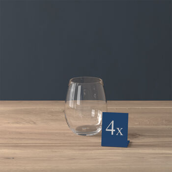 Entrée bicchiere da acqua, 480 ml, 4 pezzi