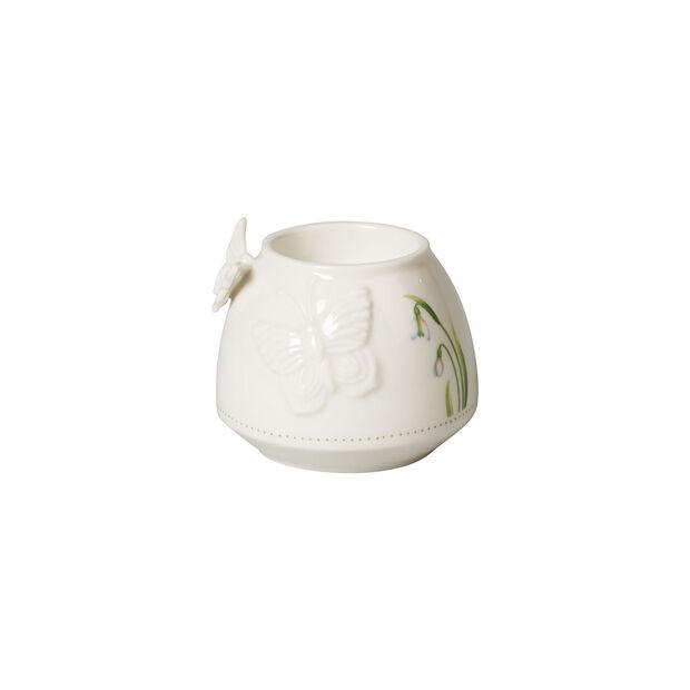 Colourful Spring portavelas de té, blanco/verde, , large