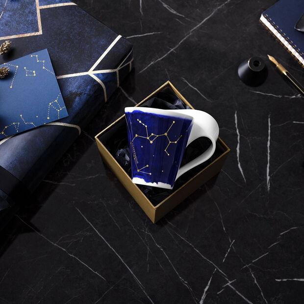 NewWave Stars taza con motivo de Sagitario, 300 ml, azul/blanco, , large