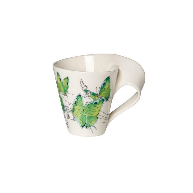 NewWave Caffè Deep green hairstreak Bicchiere con manico(imballaggio regalo), , large