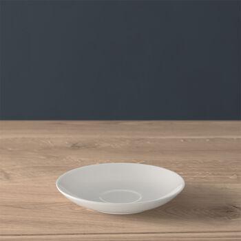 Twist White piattino per tazza da moka/espresso