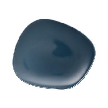 Organic Turquoise piatto piano 28 x 24 x 3cm