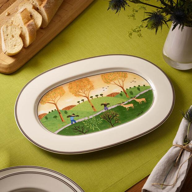 Design Naif piatto ovale 34 cm, , large