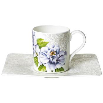 Quinsai Garden Tazza caffè con piattino 2pz