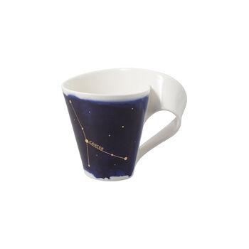 NewWave Stars tazza Cancro, 300 ml, blu/bianco
