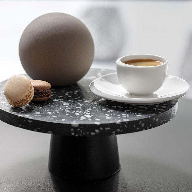 NewMoon tazzina da caffè, senza manico, 100 ml, bianco, , large