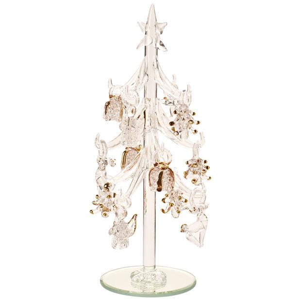 Winter Collage Accessoires Albero vetro c ornamenti 8cm, , large