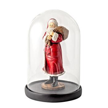 Winter Collage Accessoires Campana Santa con bolsa y oso 10,2x10,2x26,4cm