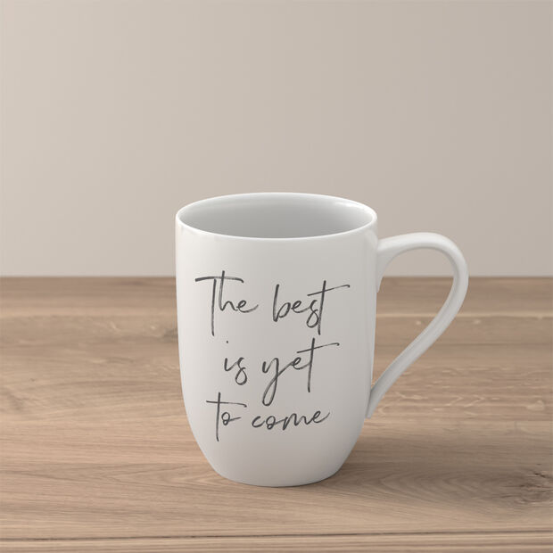 """Statement taza """"The best is yet to come"""", , large"""
