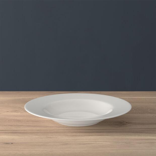 Twist White piatto fondo, , large