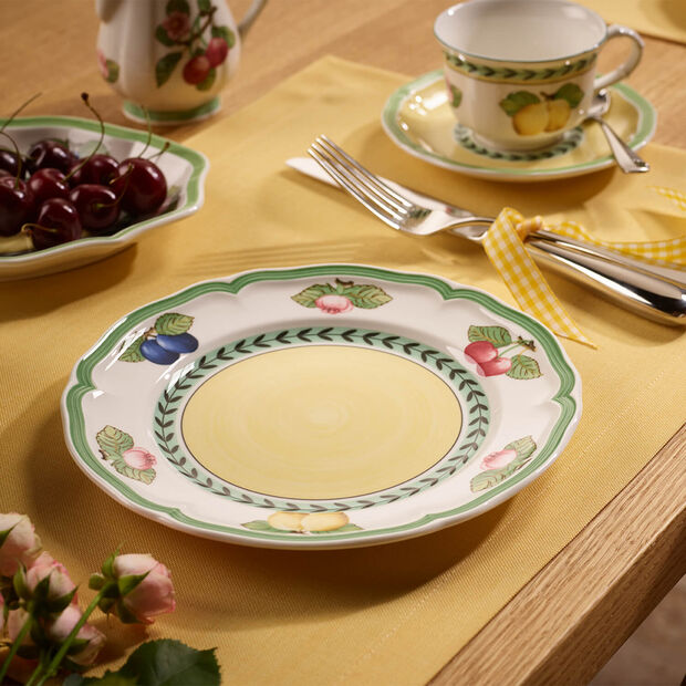 French Garden Fleurence piatto da colazione, , large