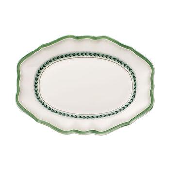 French Garden Green Line piatto ovale