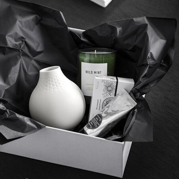 Manufacture Collier blanc Vaso Perle piccolo 11x11x12cm, , large