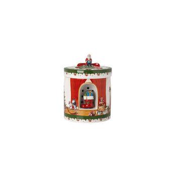 Christmas Toys Pacc. Regalo grande, rotondo, 2021 17x17x22 cm