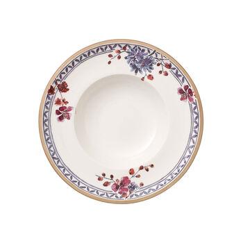 Artesano Provençal Lavanda plato hondo de 25 cm