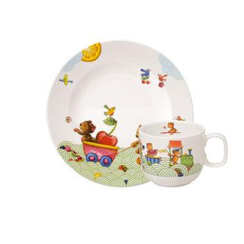 Hungry as a Bear Set da colazione per bambini, 2pz.