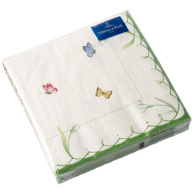 Tovaglioli di carta Colourful Spring, 25 x 25 cm, 20 pezzi, , large