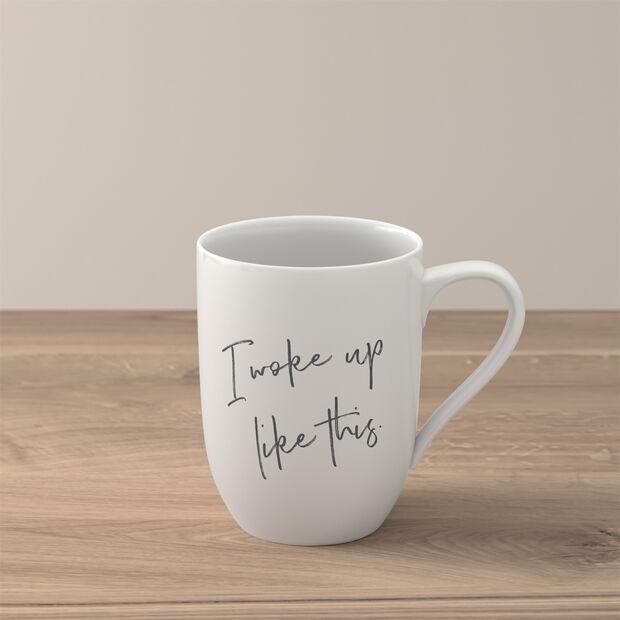 """Statement tazza """"I woke up like this"""", , large"""