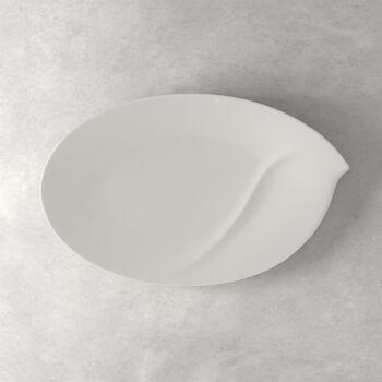 Flow piatto ovale 47 cm