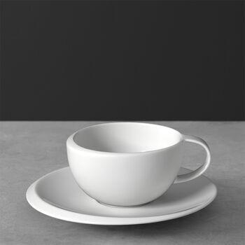 NewMoon Taza café con plato 17x17x6,5cm