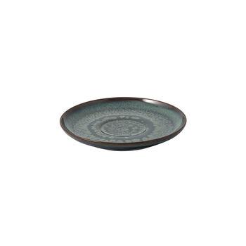 Crafted Breeze piattino per tazza da caffè, grigio-blu, 15 cm
