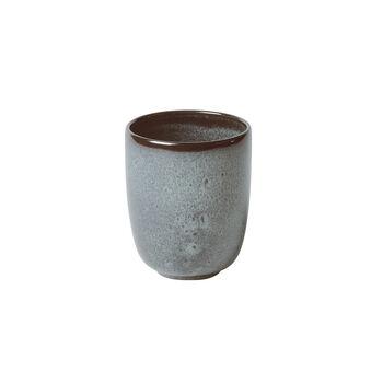 Lave Glacé tazza senza manico, turchese, 9 x 9 x 10,5 cm, 400 ml