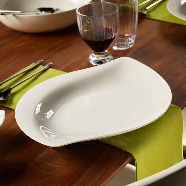 New Cottage Special Serve Salad ensaladera llana de 34 cm, , large
