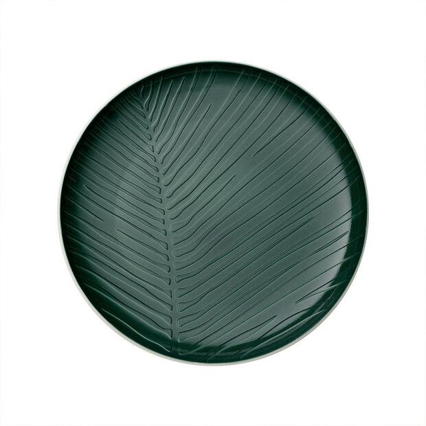 it's my match Green piatto Leaf, , large