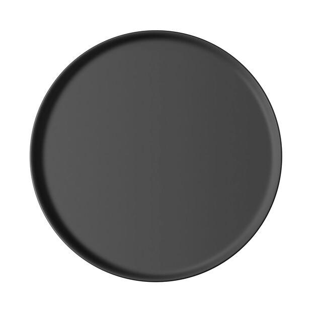 Iconic plato universal, negro, 24 x 2 cm, , large