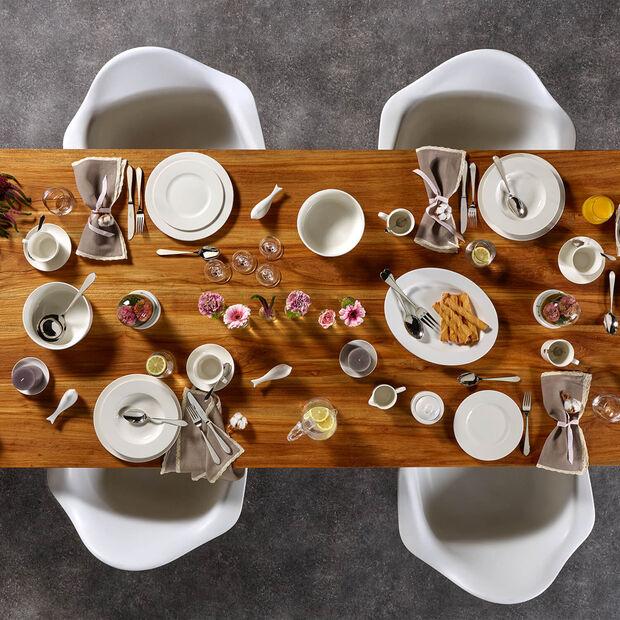 Twist White set da colazione per due persone 6 pezzi, , large